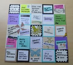 Erin's bingo card