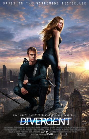 Divergent - For Once, the Movie Might be Better than the Book