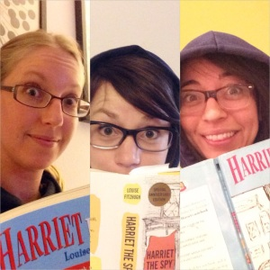 Your authors donned their Harriet blue hoodies and glasses and, uh, got a little silly.