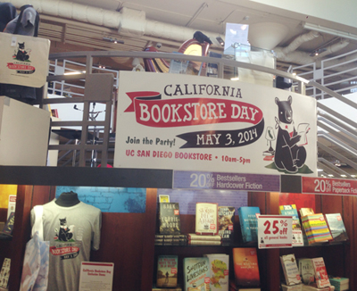We're all pretty obsessed with how adorable the Bookstore Day logo is.
