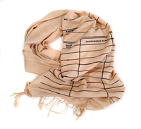library due date scarf-200