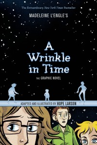 a wrinkle in time graphic novel cover