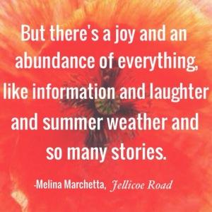 Melina Marchetta, Jellicoe Road